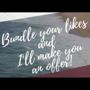 Other - Make a bundle and I'll make you a private offer!